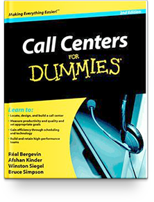Call Centers FOR DUMMIES, 2nd edition, 2012